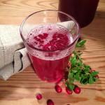 Tyttebærsaft