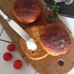 Sandwichboller med tomat