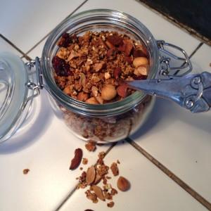 Honningristet lakridsmüslie
